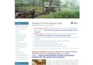 Raleigh Civil War Round Table