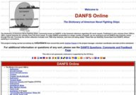 DANFS Online  The Dictionary of American Naval Fighting Ships