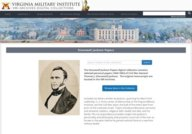 Stonewall Jackson papers at Virginia Military Institute