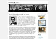 Civil War Bummer
