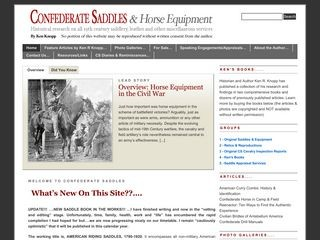 Confederate Saddles & Horse Equipment